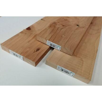 Cédrusfa fűrészáru hobbyfa 25 mm 1000 mm alatt szárított libanoni cédrus