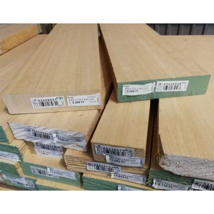 Abachi fa fűrészáru hobbyfa 43 mm 600 mm alatt OF. szélezett szárított wawa ayous samba