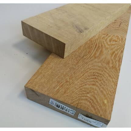 Lati fa fűrészáru hobbyfa 50 mm 1000 mm alatt OF. szélezett szárított white wenge fűrészáru