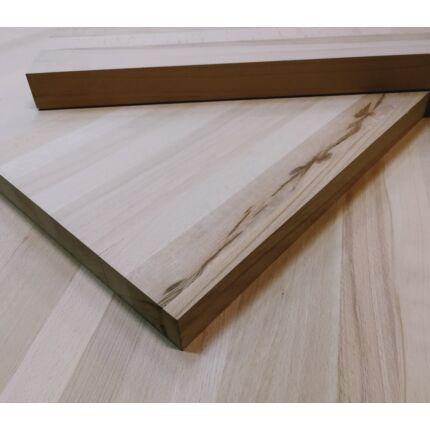 Asztallap táblásított gőzölt bükkfa TM 47 mm 1000x800 mm 0,8 m2 / 23 kg / tábla asztallap HU++