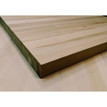 Asztallap táblásított gőzölt bükkfa TM 42 mm 1000x800 mm 0,8 m2 / 22 kg / tábla asztallap HU++