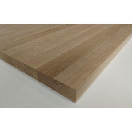 Asztallap táblásított tölgyfa TM 42 mm  800x850 mm 0,68  m2 / 22 kg / tábla HU++