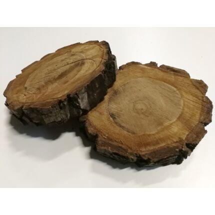 Diófa rönk fa szelet  átm. 200-250 mm 40-80 mm vastag kb. 0,037 m2 fa korong 2. sz