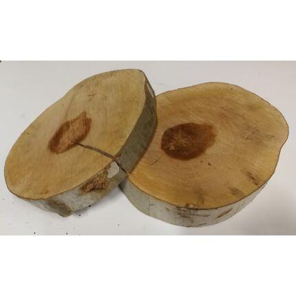 Platánfa rönk fa szelet  átm. 250-300 mm 20-60 mm vastag fa korong