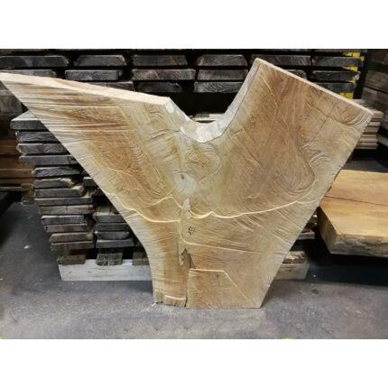 Platánfa rönk fa szelet  Y  800x800 mm 50 mm vastag  10. sz