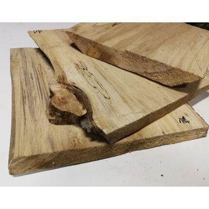 Nyárfa rönk fa szelet  350x380 mm 50 mm vastag 11. sz.