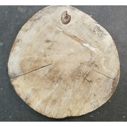 Nyárfa rönk fa szelet  átm.  750-800 mm 100 mm vastag 36. sz.