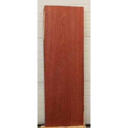 Asztallap padauk fa 1550x520 mm 47 mm vastag gyalult felülettel 1. sz.  kb. 35 kg