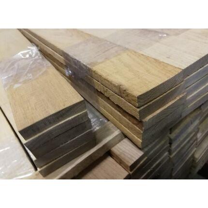 Tölgyfa fűrészáru 10-15x60-80x1100 mm deszka 5 db /csomag