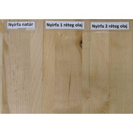 Asztallap táblásított nyírfa HT 28 mm 1500x710 mm  1 m2 / tábla
