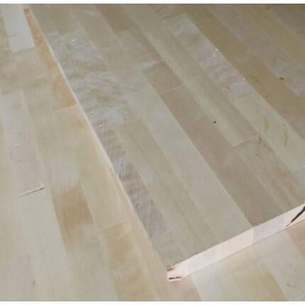 Konyhai munkalap táblásított nyírfa HT 30 mm 1750x650 mm  1,13 m2/tábla HU+