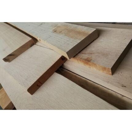 Gőzölt bükkfa fűrészáru hobbyfa 24x100-150x1000 mm