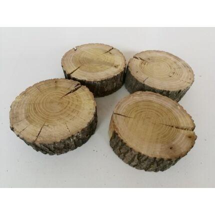 Eperfa rönk fa szelet   110-130 mm 30-50 mm vastag fa korong 1. sz. csiszolt felülettel
