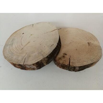 Fenyőfa rönk fa szelet  átm.  230-250 mm 30-50 mm vastag 5. sz.