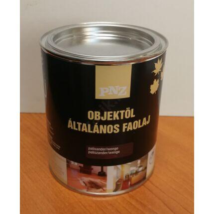 Faápoló általános olaj beltéri Paliszander/Wenge szín 0,75 L 15 m2 / liter  faolaj PNZ