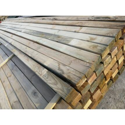 Fenyő stafni telített  45x68x3600 mm impregnált kültéri faanyag