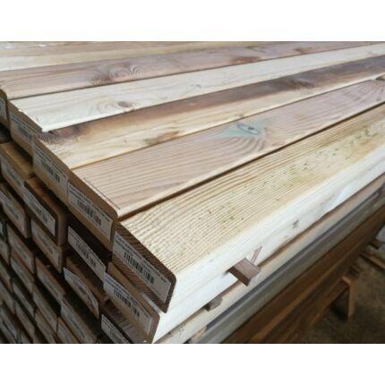 Fenyő stafni telített  45x68x1800 mm impregnált kültéri faanyag