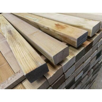 Fenyő stafni telített  45x68x 800 mm impregnált kültéri faanyag