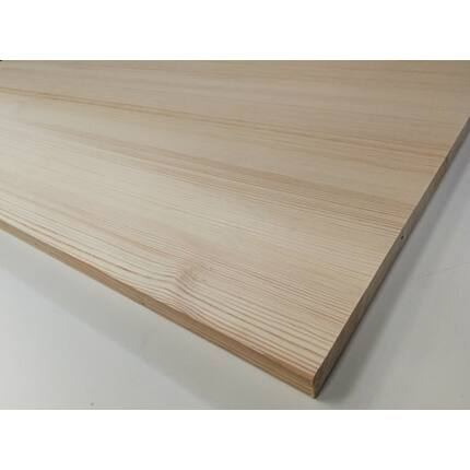 Asztallap táblásított borovi fenyő TM 30 mm  1200x900 mm  OF. 1,08 m2 / 18 kg / tábla