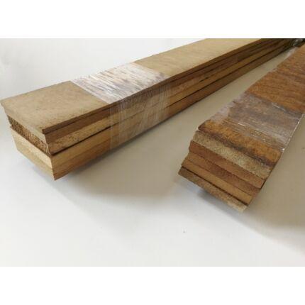 Iroko fa fűrészáru hobbyfa 5-10x70x1000 mm 5 db léc /csomag