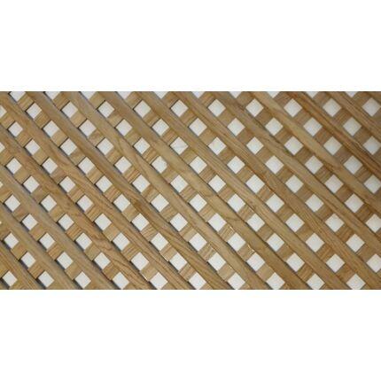 Apácarács tábla tölgyfa 9x600x1200 mm 0,72 m2  bútorajtó betét farács