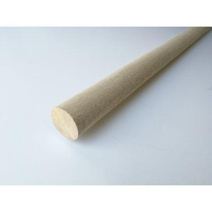 Lépcsőkorlát kapaszkodó rúdfa kőrisfa átm. 50x1200 mm korlát farúd (koto)
