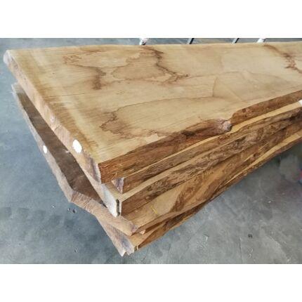 Tölgyfa fűrészáru 55x500-750x2100 mm 7. sz. SZÉLEZETLEN szárított asztallap  kb.56 kg