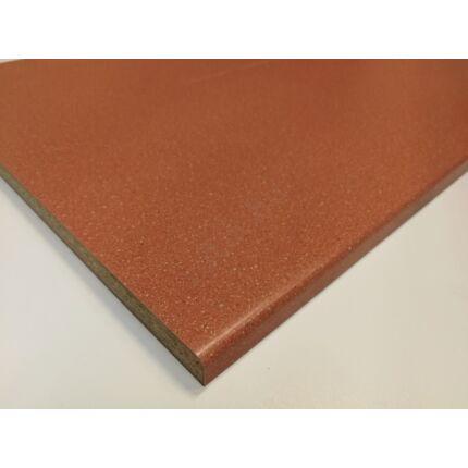 Polclap laminált  980x590 mm ívelt él tégla vörös