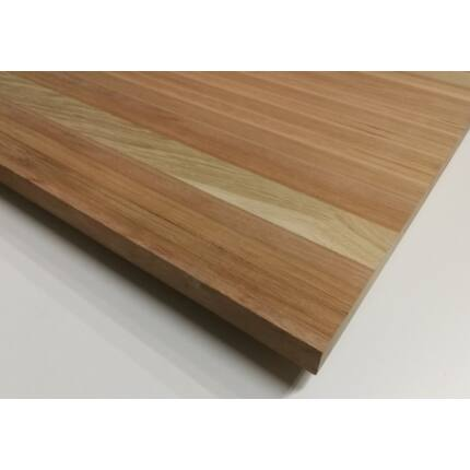 Asztallap táblásított rétegragasztott mahagónifa 27 mm  1050x750 mm