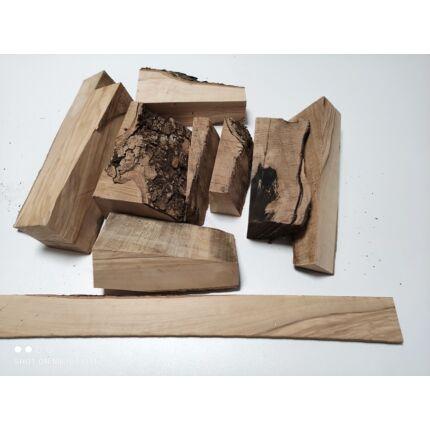 Olajfa hobby fa darabok vegyes méretben kg