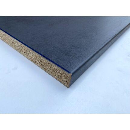 Konyhai munkalap laminált 1650x600x38 mm sötét kék oxid konyhapult 458.sz