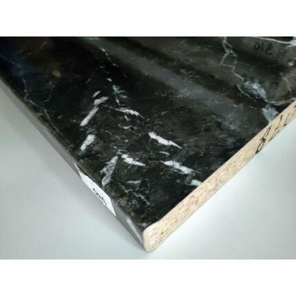 Konyhai munkalap laminált 2600x600x38 mm márvány 820  413.sz