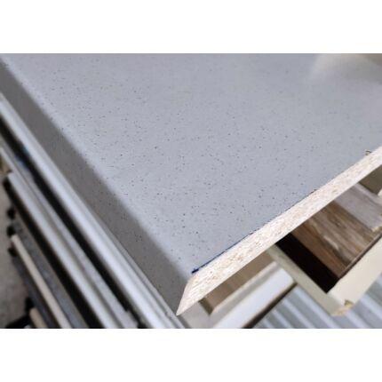 Konyhai munkalap laminált 1250x600x38 mm fehér grainy (4972) 389. sz