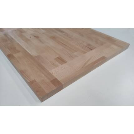 Asztallap táblásított bükkfa gőzölt HT 32 mm 740x640 mm A min. 0,47 m2  kb. 10 kg  HU++
