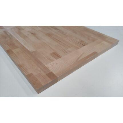 Asztallap táblásított bükkfa gőzölt HT 32 mm  820x600 mm A min. RÁMA 0,49 m2 kb. 11 kg