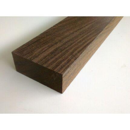 Wenge fa fűrészáru 65x145x600 mm szélezett szárított kb 5 kg/db
