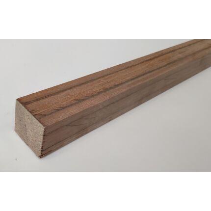 Hondurasi rózsafa hobby fa  55x55x 800 mm  rosewood  palisander