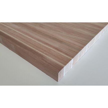 Asztallap táblásított rétegragasztott cseresznyefa 31 mm  800x600 mm 0,48 m2/tábla