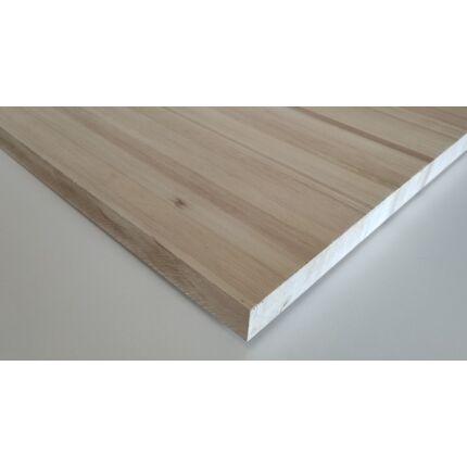 Asztallap táblásított rétegragasztott juharfa 31 mm 1700x600 mm 1,02 m2/tábla
