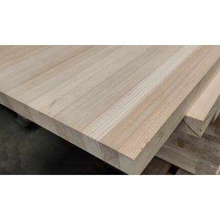 Asztallap táblásított borovi fenyő TM 42 mm  1490x680 mm OF.  1 m2/ tábla