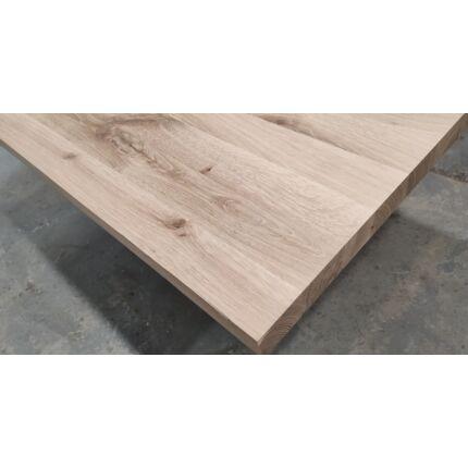 Asztallap táblásított tölgyfa TM 43 mm 1200x850 mm 1,02  m2 / tábla HU++