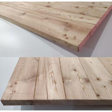 Asztallap vörösfenyő  710x1000 mm 44 mm vastag 0,71 m2 kb. 21 kg