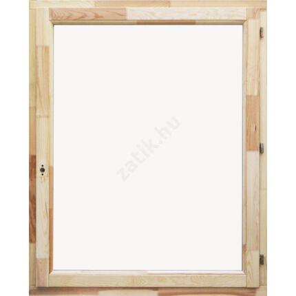Ablak oldalt nyíló borovi 120x150 cm jobbos (sj)