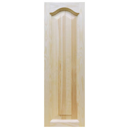 Bútorajtó fenyő íves betétes  926x297 mm tele filungos