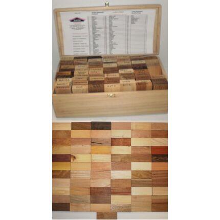 Faminta készlet lombos és egzóta fafajok (dobozban)