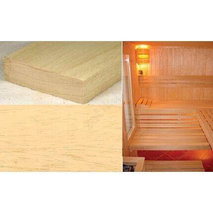 Abachi fa fűrészáru 52 mm 1200-1550 mm OF. szélezett szárított wawa ayous samba
