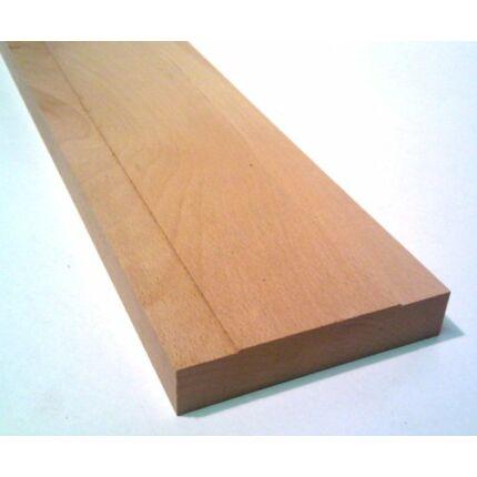 Küszöb bükk gőzölt  800x 75 mm 20 mm vastag küszöbsín horonnyal 90x210 cm ajtóhoz HU++