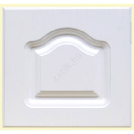 Bútorajtó MDF fóliás fehér F   335x295 mm