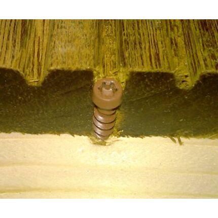 Csavar teraszburkolat csavar 5x65 mm barna torx 20 fejes