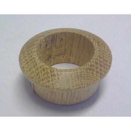 Szellőző fakarika tölgyfa átm. 40 mm lyukra illeszthető 5 mm peremmel